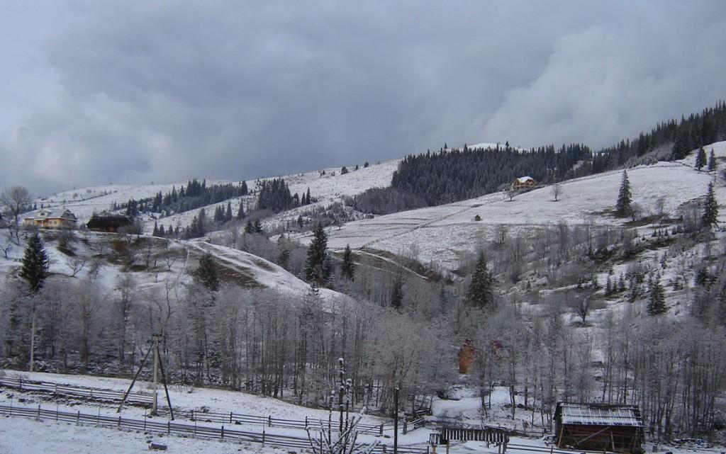Дземброня зима
