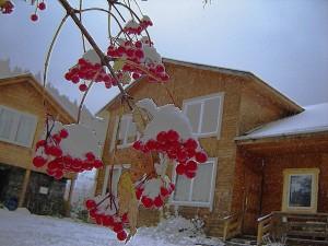Дом 1 сніг іде ВЕЛИКА ХАТА