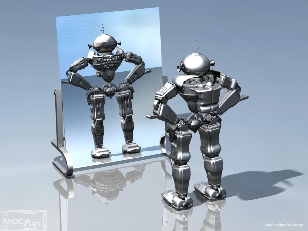 Робот в зеркале