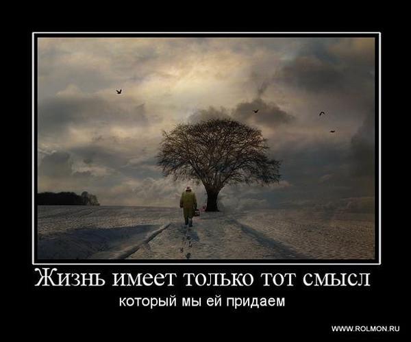 Жизнь имеет смысл